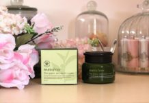 review kem duong da tra xanh innisfree the green tea seed cream