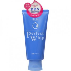 sua rua mat duong trang da shiseido perfect whip noi dia nhat ban
