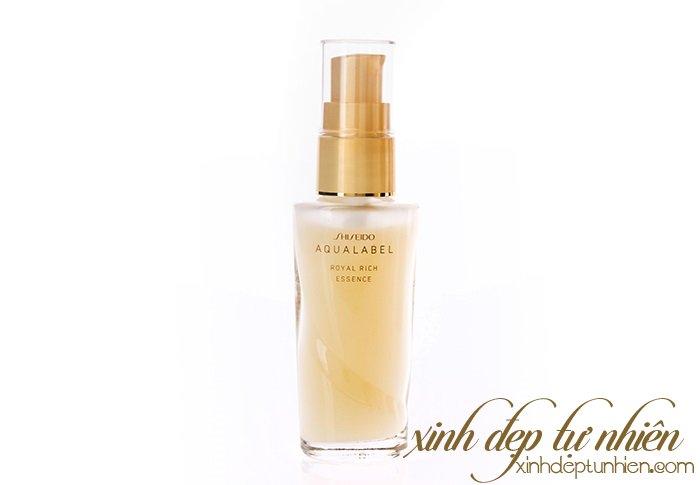 serum duong trang da chong lao hoa shiseido aqualabel royal noi dia nhat